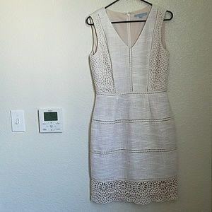 Antonio Melani Mixed Material Classic Dress